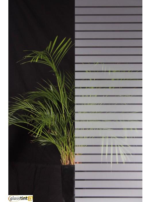 Designer & Patterned - 45mm Frosted Stripes