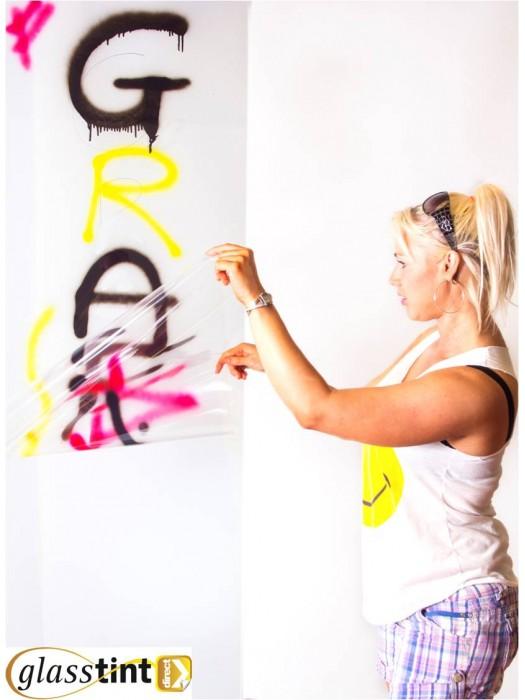 Safety & Security - Anti-Graffiti Window Film