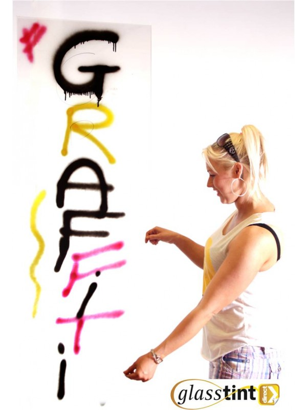 Anti-Graffiti Window Film - Safety & Security - GlassTint Direct