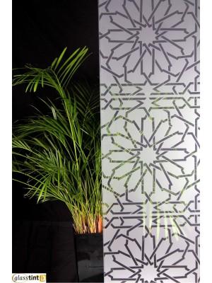 FROSTED ROSETTES Designer & PatternedGlassTint Direct
