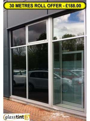 Glare Reduction Window Film 1mtr wide - SPECIAL OFFER - 30m roll, GlassTint-Direct