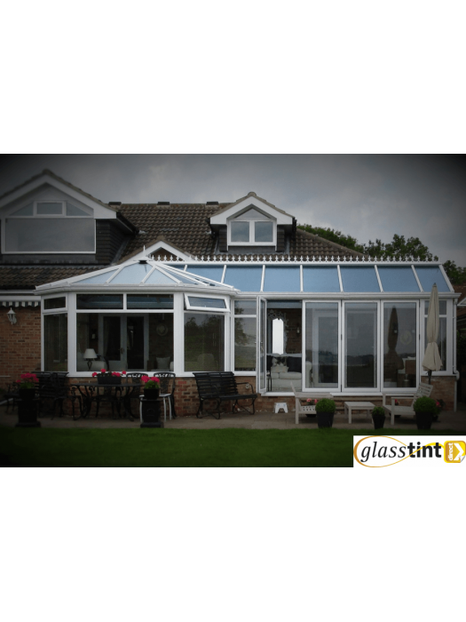 Conservatories - SolBlok Silver for Glass (910mm Roll Width)