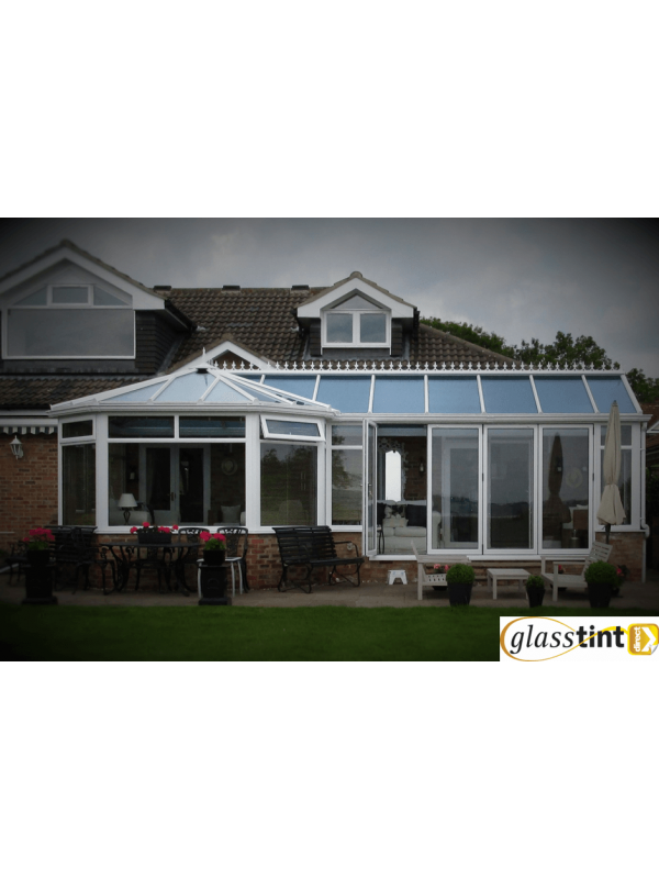 SolBlok Silver for Glass (1220mm Roll Width) Conservatories GlassTint Direct