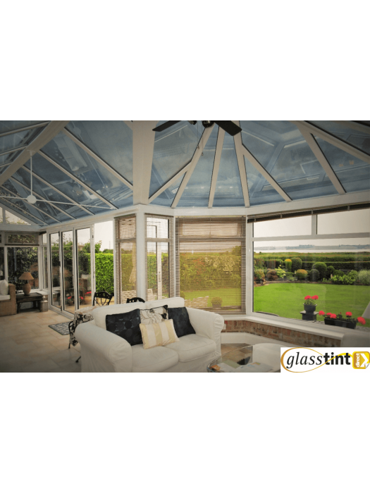 Conservatories - SolBlok Silver for Glass (1220mm Roll Width)